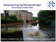 Urbanisering og klimaendringer - Pura