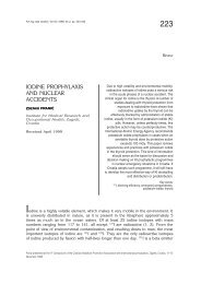 IODINE PROPHYLAXIS AND NUCLEAR ACCIDENTS