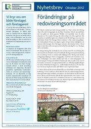 Nyhetsbrev 12.10 - LR-revision