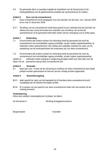 Nota Dierenwelzijn - Gemeente Heerhugowaard