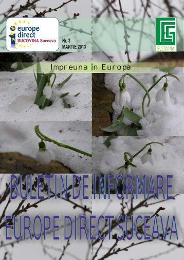 Impreuna in Europa - Centrul de Informare Europe Direct ...