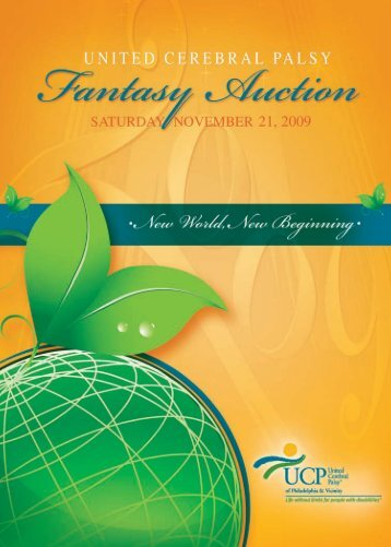 2009 Fantasy Auction invitation is available online - United Cerebral ...