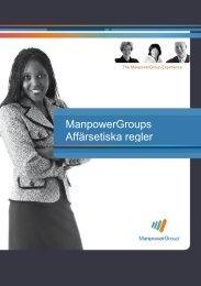 ManpowerGroups Affärsetiska regler