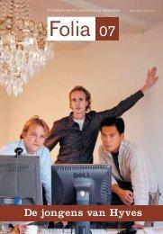 De jongens van Hyves - Folia Web