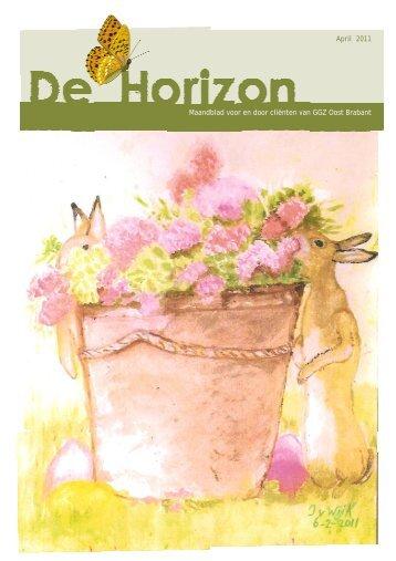 Horizon april.pub - GGZ Oost Brabant