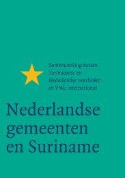 Nederlandse gemeenten en Suriname - VNG International