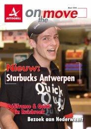 Nieuw: Starbucks Antwerpen
