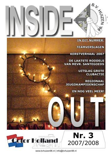 Inside Out 3 2007/08 - BV Huizen '96
