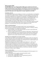 Meetcampagne RIVM - extra informatie - GGD Zeeland