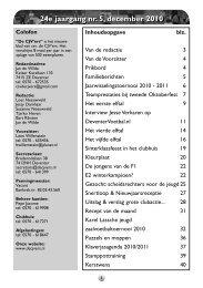 Bewaarnummer Seizoen 2010-2011 - CJV'ers