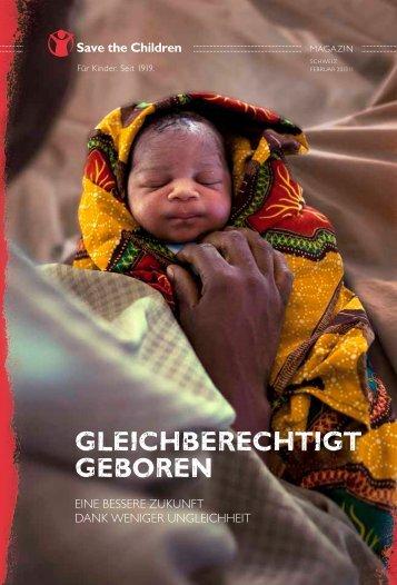 GleichberechtiGt Geboren - Save the Children