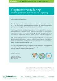 Seminarie Cognitieve veroudering 30 april 2011.pdf - Faché Instituut