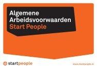 Algemene Arbeidsvoorwaarden Start People