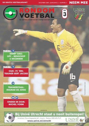seizoen 2008/2009 nummer 3 - Rondom Voetbal