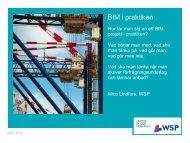 WSP – BIM i praktiken - Adtollo