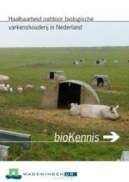 Haalbaarheid outdoor biologische varkenshouderij in ... - Agrio