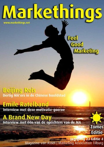 Download Markethings zomer 2010 - Markethings.net