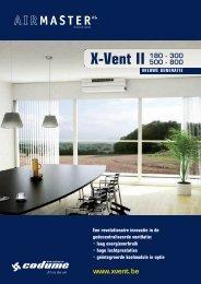 X-Vent II 180 - 300 - Codumé