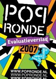 het complete verslag van de Popronde 2007
