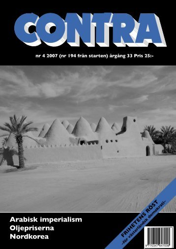 Nummer 4 2007 - Contra