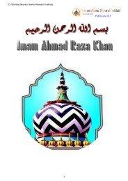 Shaykh Ala Hazrat Imam Ahmad Raza Khan - Islamitische ...
