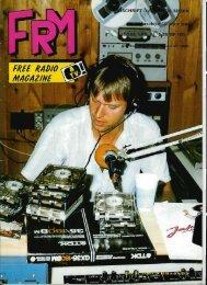 Free Radio Magazine november 1986