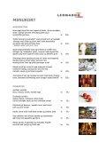 SELSKABS-MENUKORT TOSCANA VENEDIG - Comwell - Page 3