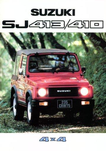 Suzuki SJ 410 / 413 - Dirty Suzi