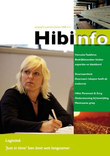 Jaargang 9, september/ oktober 2009, nr. 4 - Hibin