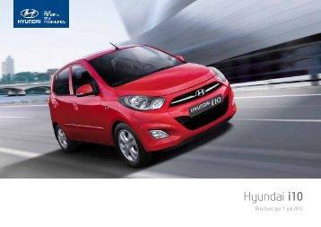 Brochure Hyundai i10