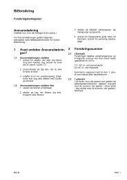 Betingelser - Codan Forsikring A/S
