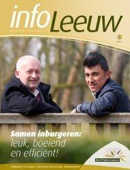 infoLeeuw mei 2013 - Gemeente Sint-Pieters-Leeuw