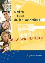 passie voor autisme - Dr. Leo Kannerhuis