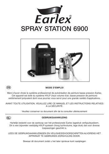 SPRAY STATION 6900 - Earlex