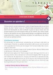 Docenten en opleiders | professionele opleiding - Vilans