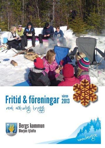 FritidsNytt våren 2013 - Bergs kommun