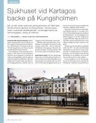 Sjukhuset vid Kartagos backe på Kungsholmen