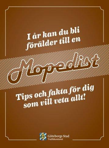 moped klass ii - Mopeden