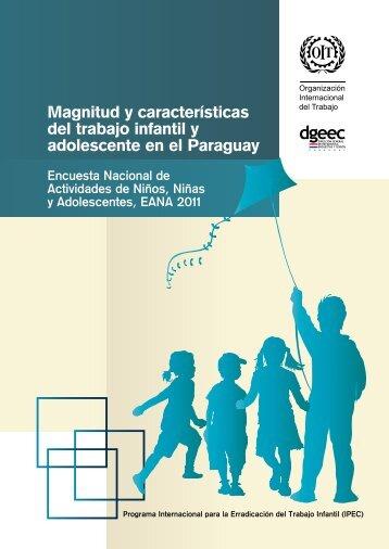 Magnitud y características del trabajo infantil y adolescente en el ...