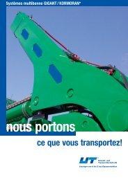 nous portons - UT Umwelt- und Transporttechnik AG