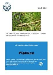 Pløkken efterår 2012.pdf - cityspejderne 5. Odense