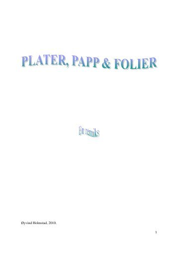Plater, Papp & Folier - GAIA agenda