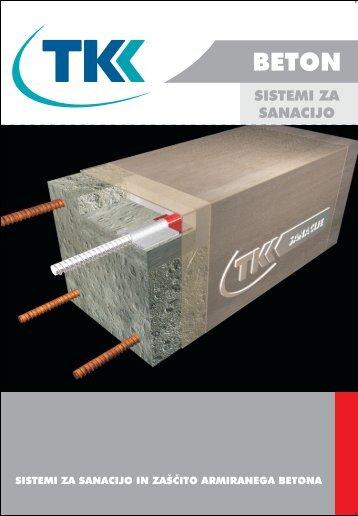 Sistem sanacije betona - TKK