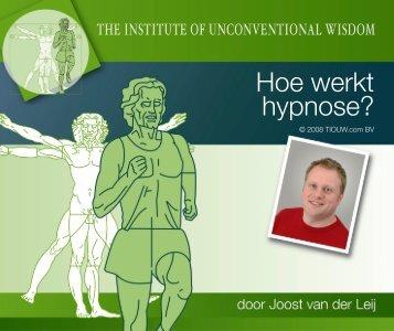 Hoe werkt hypnose?