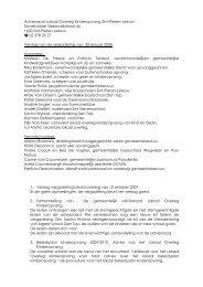 Adviesraad Lokaal Overleg Kinderopvang Sint-Pieters-Leeuw ...