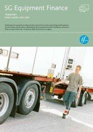Transport, tung lastbil och släp - SG Finans