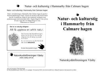 Calmare hagen - Upplands Väsby kommun