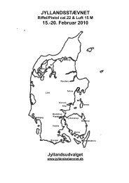 Alle jydske DDS skytter indbydes til at deltage - Ry-Emborg