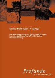 Eerlijke Bankwijzer - 8e update