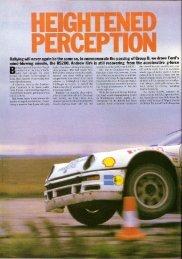 Ford RS200 - Autocar Magazine - November 12, 1986